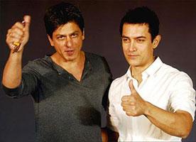 SRK and Aamir
