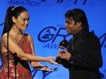 Rahman with Grammy